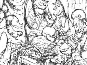 nacimiento dibujo