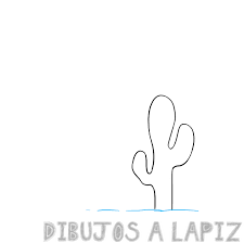 dibujos de cactus para imprimir