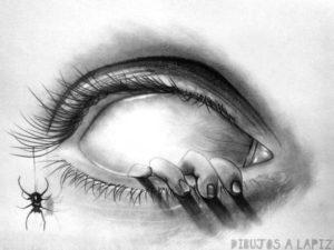 dibujos de terror a lapiz