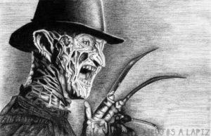 dibujos de terror y miedo