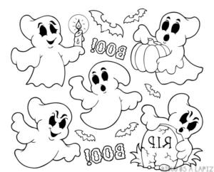 fantasma dibujo