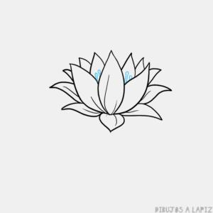 flor de loto pintura