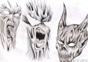fotos de angeles y demonios
