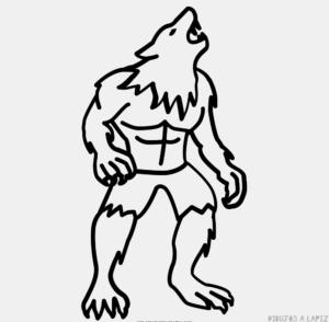 fotos de hombres lobos reales