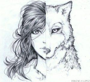 hombre lobo para dibujar 1