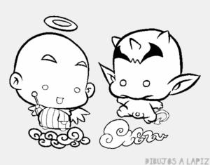 imagenes de angeles y demonios para descargar