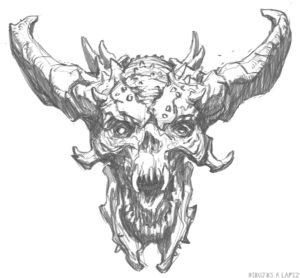 imagenes de demonios reales