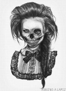 imagenes para dibujar de terror