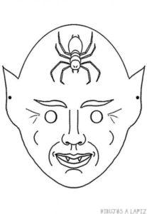 mascara dibujo