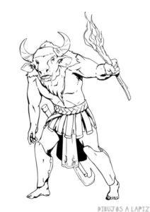 mito griego del minotauro