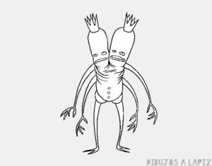 monstruos dibujos