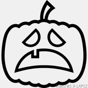 pintar calabaza halloween