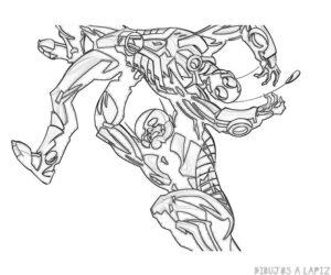 ant man el hombre hormiga para dibujar