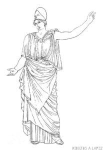 atenea para dibujar