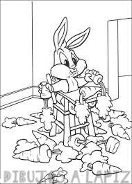 dibujar a bugs bunny