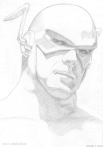 dibujo animado de flash