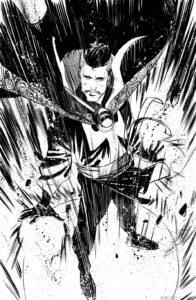 dibujo del doctor strange