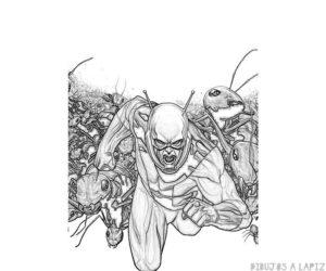 dibujos de antman animados
