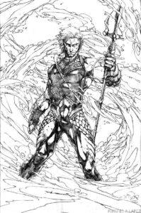 dibujos de aquaman kawaii