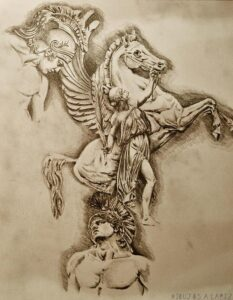 dibujos de aquiles nazoa para niños