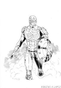 dibujos de capitan