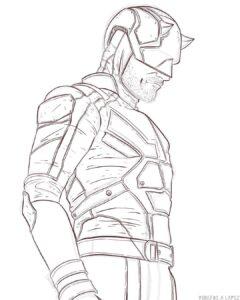 dibujos de daredevil
