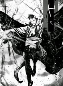 dibujos de doctor strange civil war