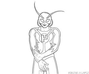 dibujos de el hombre hormiga