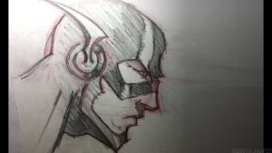 dibujos de flash a lapiz