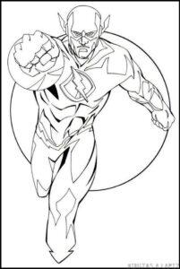 dibujos de flash a lapiz faciles
