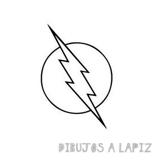 dibujos de flash para colorear