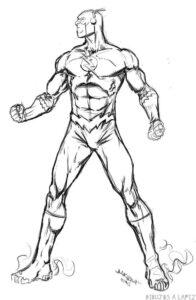 dibujos de flash para dibujar