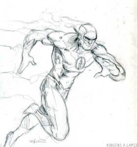dibujos de flash para imprimir