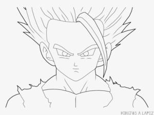 dibujos de goku y gohan