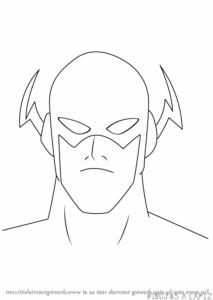dibujos de kid flash