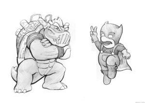 dibujos de koopa