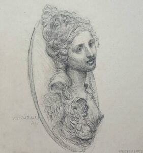 dibujos de la diosa atenea