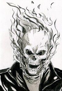 dibujos del vengador fantasma para descargar