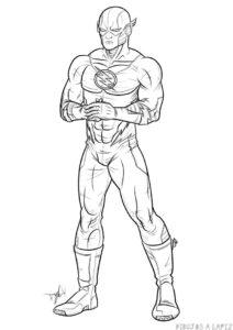 flash en dibujo