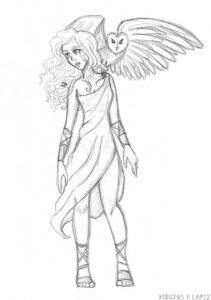 imagenes de atenea para dibujar