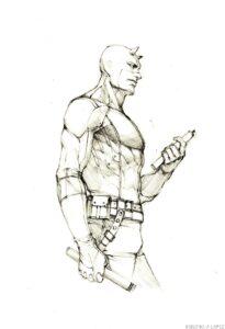 imagenes de daredevil dibujo