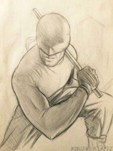 imagenes de daredevil para dibujar