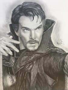 imagenes de doctor strange para dibujar