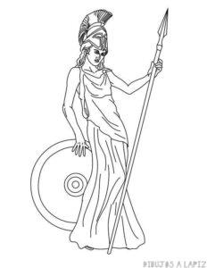 imagenes de la diosa atenea mitologia griega