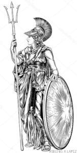 imagenes de la estatua de atenea