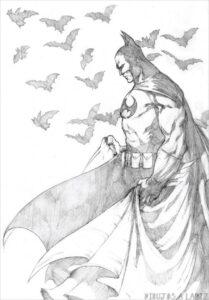 imagenes de superman para colorear