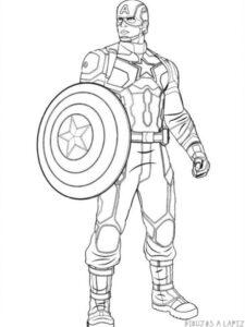 imagenes del capitan america en caricatura