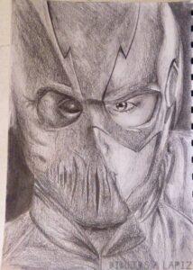 the flash dibujo