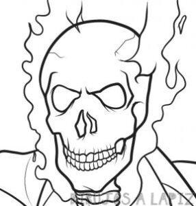 vengador fantasma animado