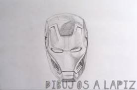 dibujar a iron man